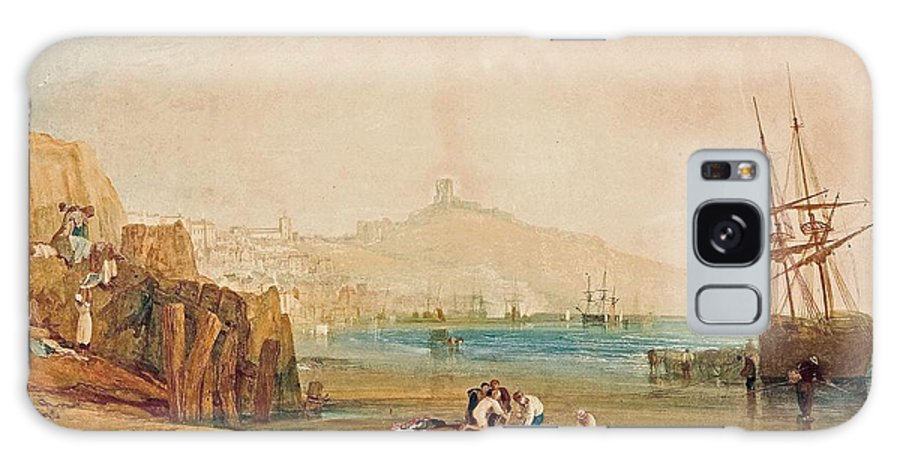1810 Galaxy S8 Case featuring the painting Boys Catching Crabs by JMW Turner
