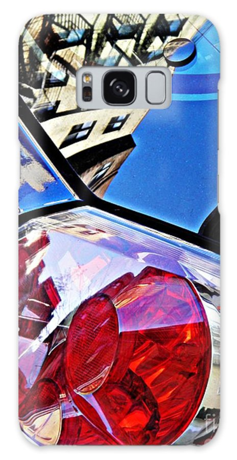 Glass Galaxy S8 Case featuring the photograph Brake Light 50 by Sarah Loft
