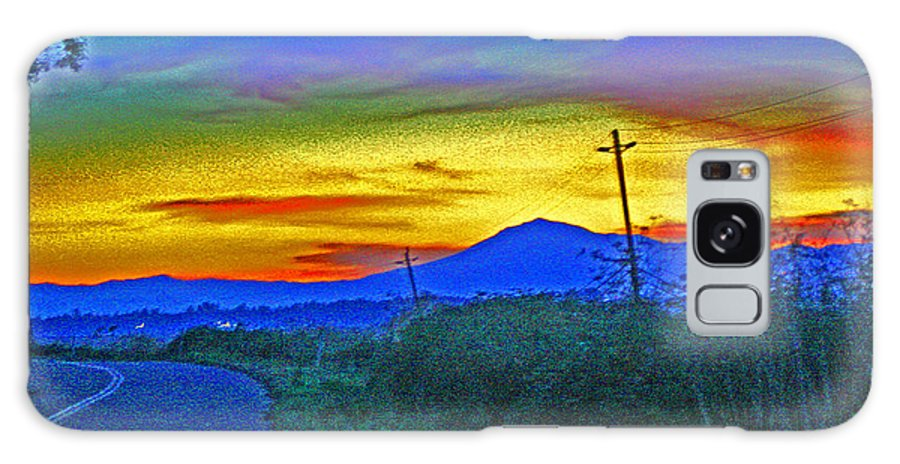 Brannan Island Rd Sunset Galaxy S8 Case featuring the photograph Brannan Island Rd Sunset by Joseph Coulombe