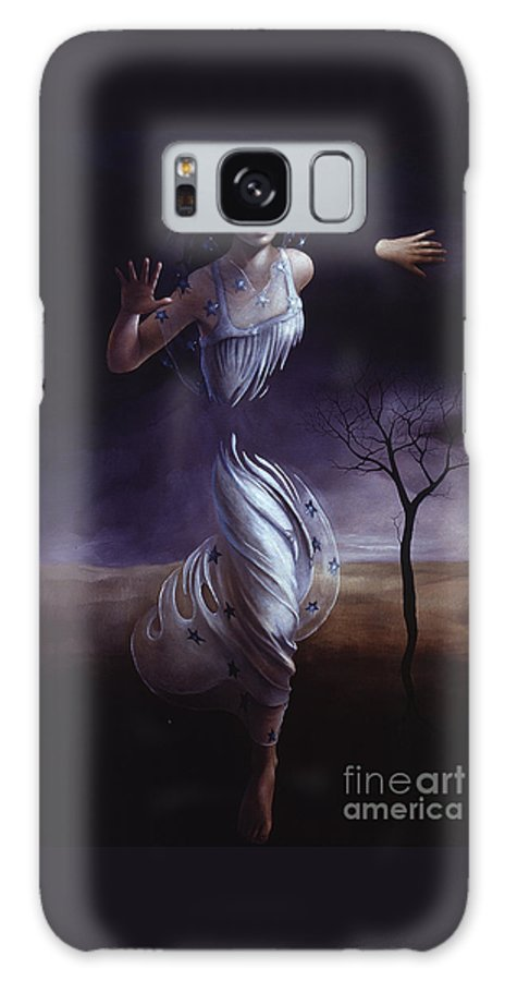 Outside Galaxy S8 Case featuring the painting Breaking Through by Jane Whiting Chrzanoska