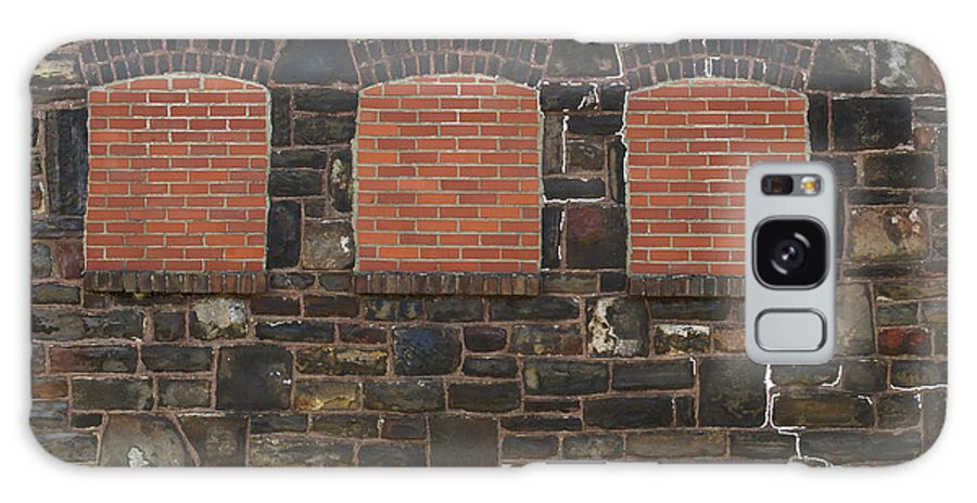 Windows Galaxy S8 Case featuring the photograph Bricked Windows  #2561 by J L Woody Wooden