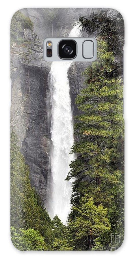 Galaxy S8 Case featuring the photograph Bridal Veil Falls by Karen Dempsey