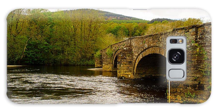 Arch Galaxy S8 Case featuring the photograph Bridge Near Cymer Abbey by Mark Llewellyn