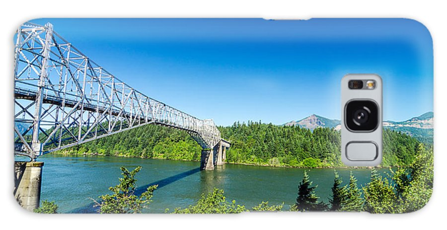 Bridge Galaxy S8 Case featuring the photograph Bridge Of The Gods by Jess Kraft