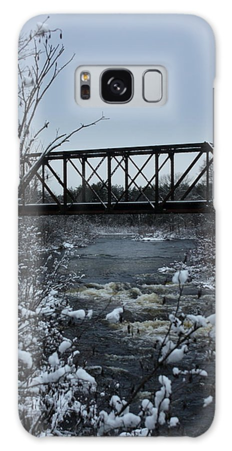 Landscape Galaxy S8 Case featuring the photograph Bridge Over Troubled Waters by Bethany Foster