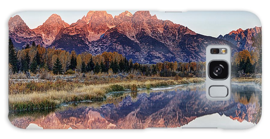 Grand Teton National Park Galaxy S8 Case featuring the photograph Brilliant Cathedral by Mark Kiver
