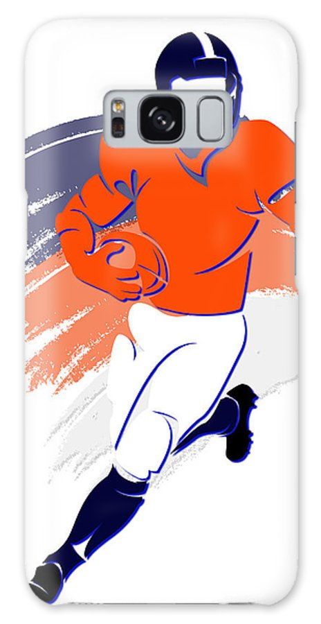 Broncos Galaxy S8 Case featuring the photograph Broncos Shadow Player2 by Joe Hamilton