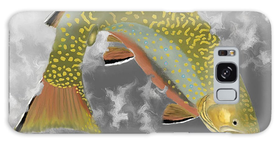 Brook Trout Galaxy S8 Case featuring the photograph Brookie by Bruce J Barker
