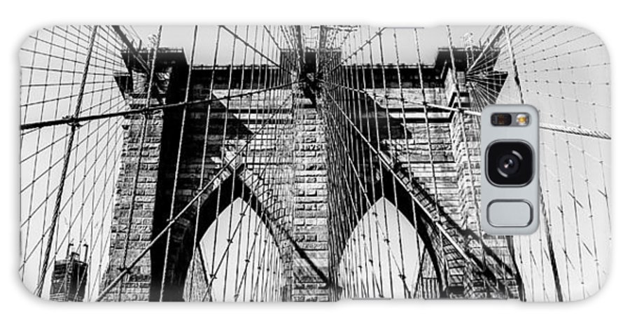 Brooklyn Galaxy S8 Case featuring the photograph Brooklyn Lines by Kali