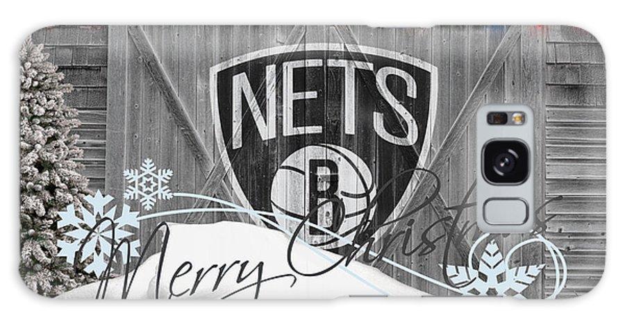 Nets Galaxy S8 Case featuring the photograph Brooklyn Nets by Joe Hamilton