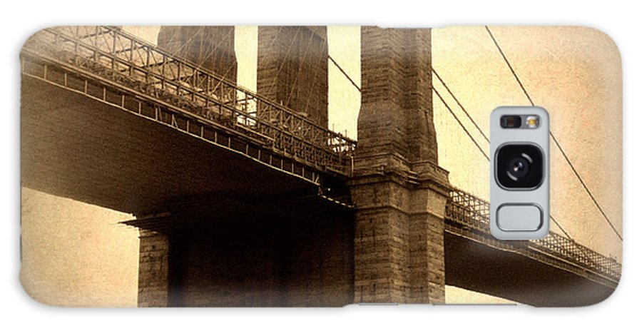 Bridge Galaxy S8 Case featuring the photograph Brooklyn Nostalgia by Jessica Jenney
