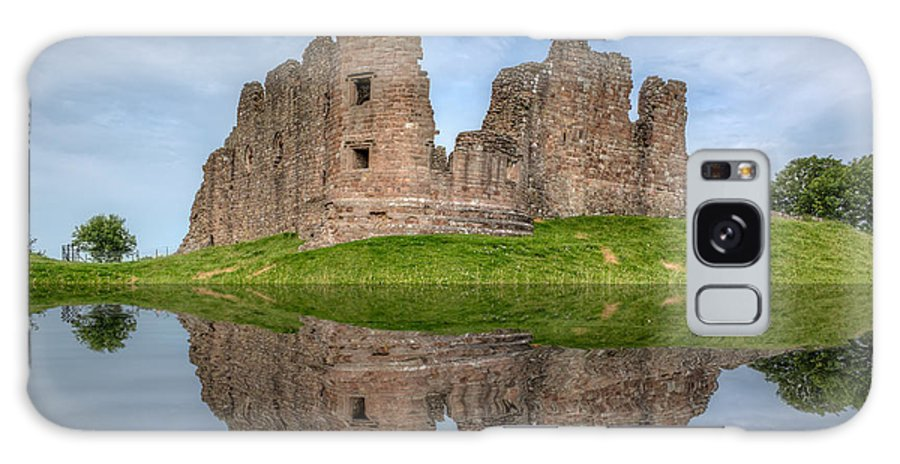 Cumbria Galaxy S8 Case featuring the photograph Brough Castle by Bahadir Yeniceri