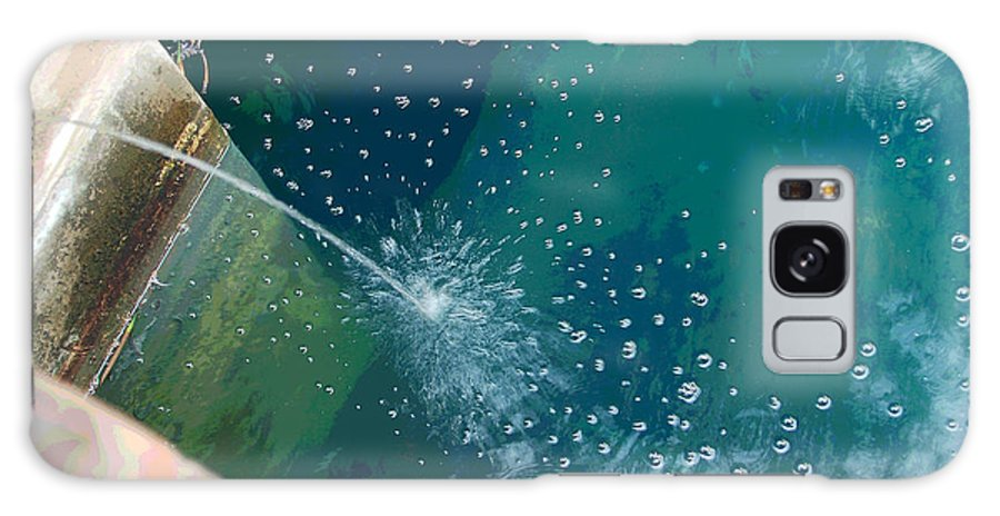 Digital Art Galaxy S8 Case featuring the photograph Bubble Abstract by Suzanne Gaff
