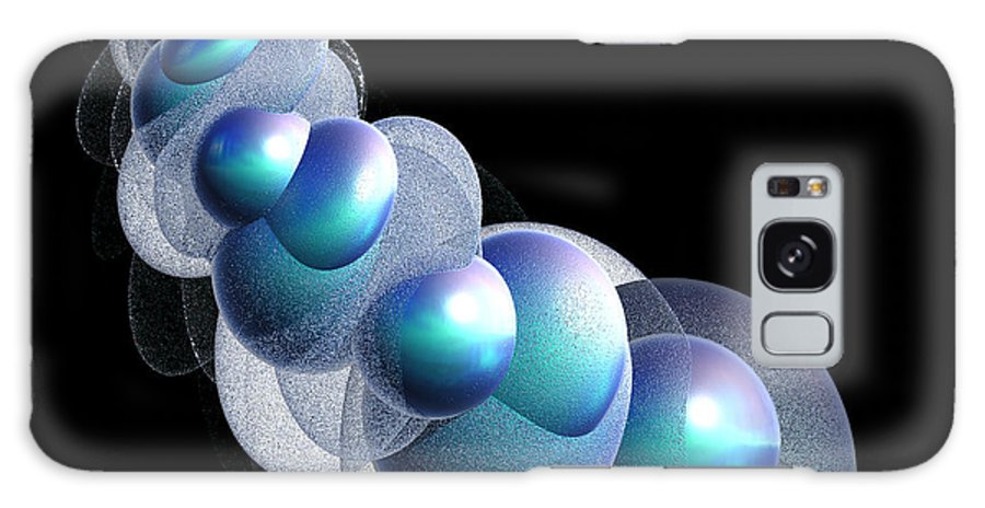 Bubble Galaxy S8 Case featuring the digital art Bubbles On The Rhosddu Road by Brainwave Pictures