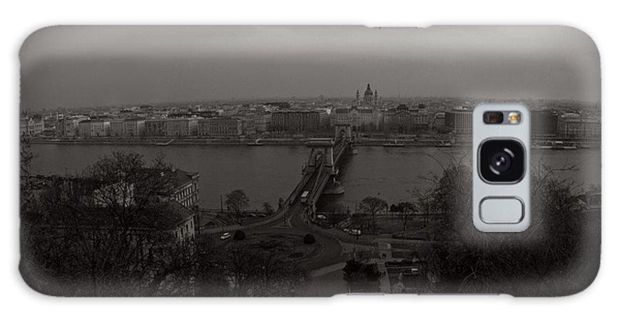 Black Galaxy S8 Case featuring the digital art Budapest by Vitaly Kozlovtsev