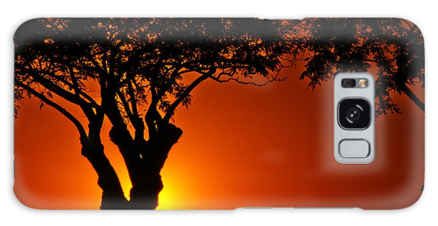 Urban Galaxy S8 Case featuring the photograph Buenos Aires At Sunset by Jess Kraft
