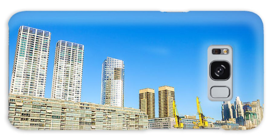 Apartment Galaxy S8 Case featuring the photograph Buenos Aires Waterfront by Jess Kraft