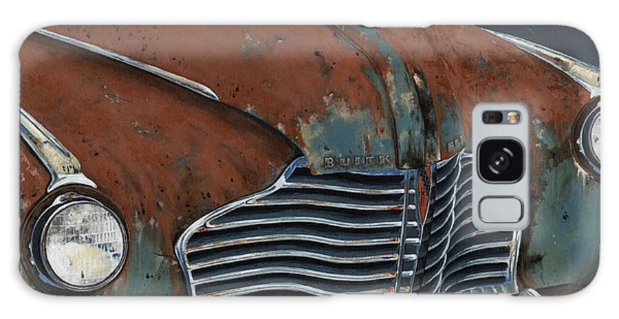 Vintage Galaxy S8 Case featuring the painting Buick Electra by John Wyckoff