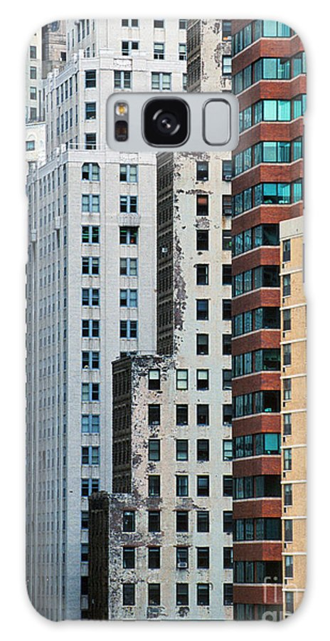 Galaxy S8 Case featuring the photograph Buildings by Bruce Bain