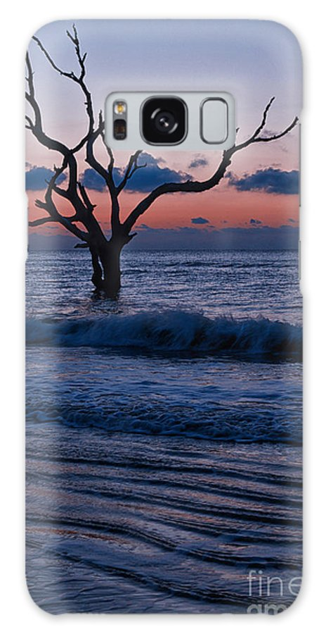 Bull Island Galaxy S8 Case featuring the photograph Bull Island Sunrise by Carrie Cranwill