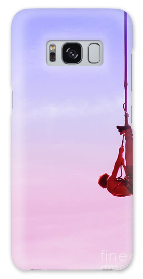 Adrenalin Galaxy S8 Case featuring the photograph Bungee Jumping 07 by Antony McAulay