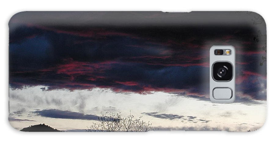 Nature Galaxy S8 Case featuring the photograph Burgandy Storm by William McCoy