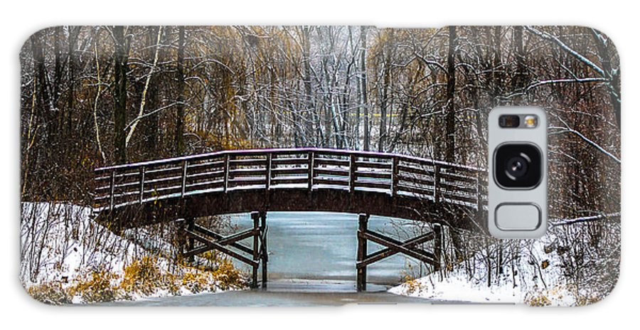 Galaxy S8 Case featuring the photograph Burnsville Bridge by Nick Peters