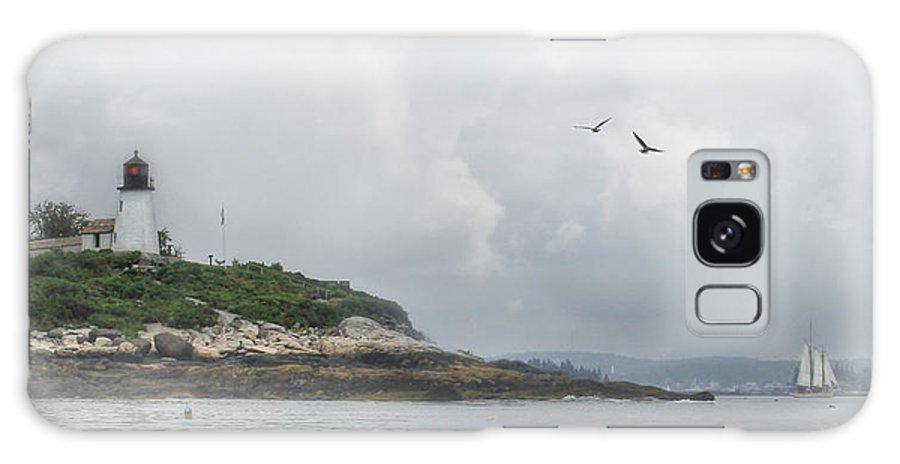 Burnt Island Galaxy S8 Case featuring the photograph Burnt Island Light by Lori Deiter