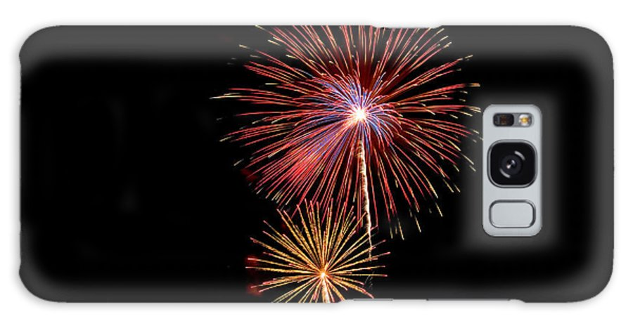 Fireworks Galaxy S8 Case featuring the photograph Bursting Stars by Devinder Sangha