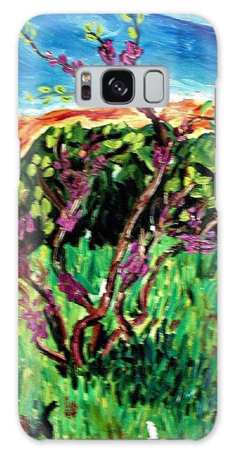 Bush Galaxy S8 Case featuring the painting Bush by Vladimir A Shvartsman