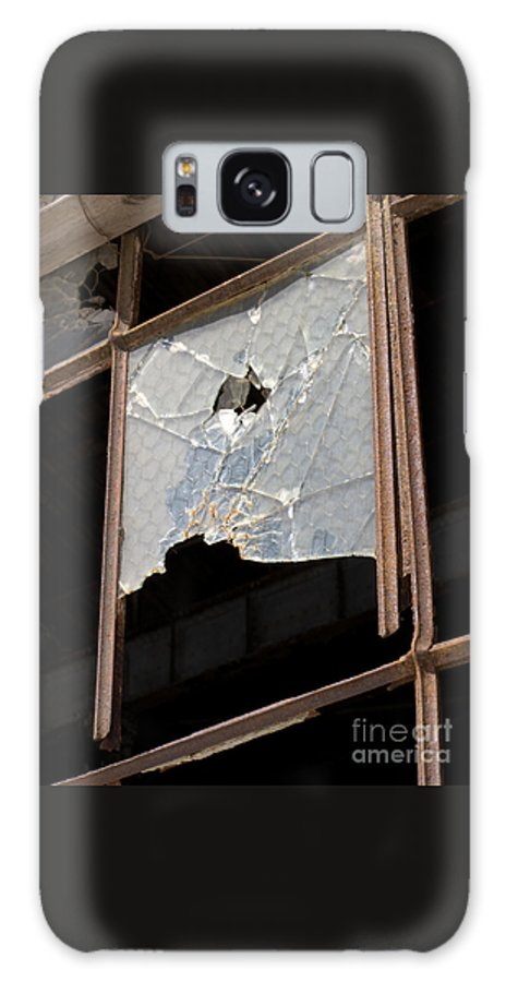 Window Galaxy S8 Case featuring the photograph Busted by Ann Horn