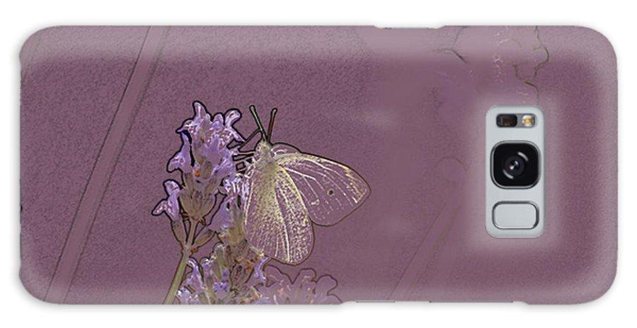 Butterfly Galaxy S8 Case featuring the digital art Butterfly 1 by Carol Lynch