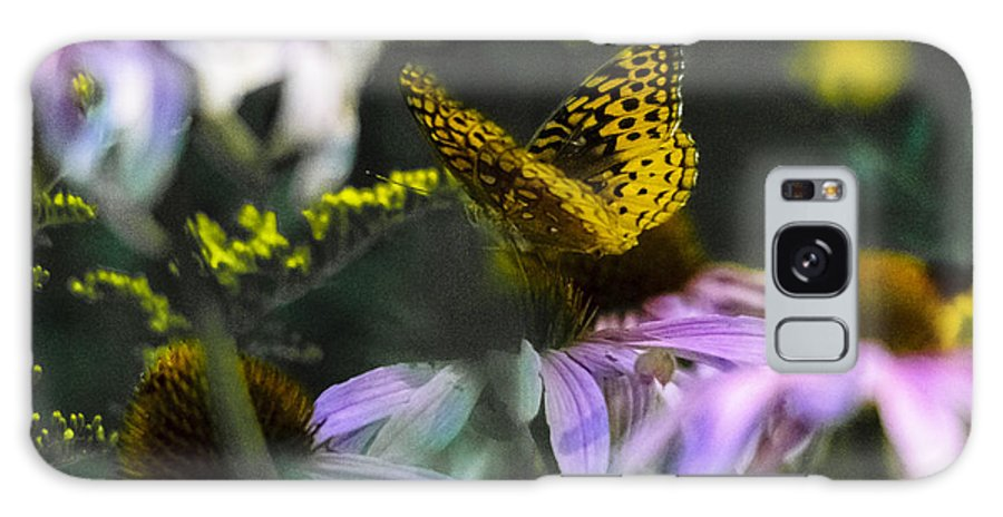 Coneflowers Galaxy S8 Case featuring the photograph Butterfly Coneflowers 2 by David Tennis