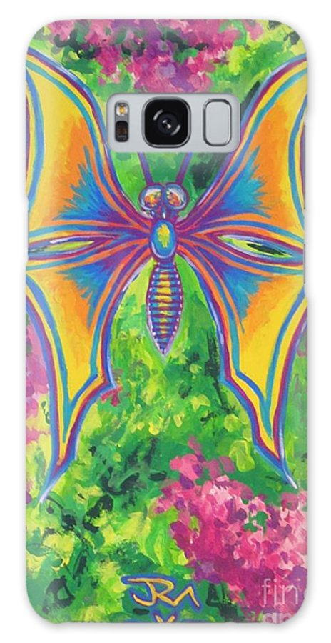 Galaxy S8 Case featuring the painting Butterfly by Jedidiah Morley