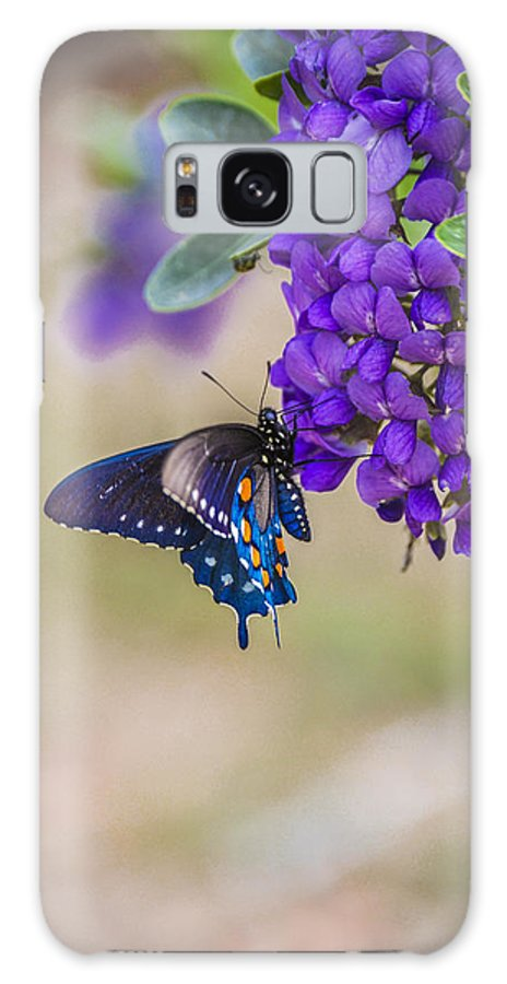 Mountain Laurel Galaxy S8 Case featuring the photograph Butterfly Mountain by Debbie Karnes
