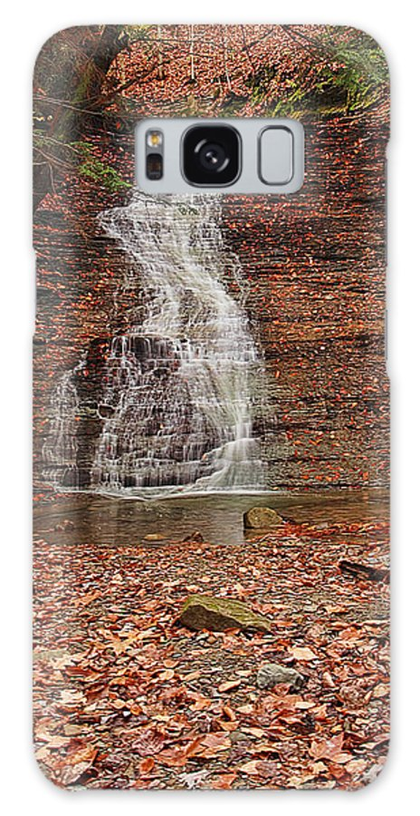 Landscape Galaxy S8 Case featuring the photograph Buttermilk Falls by Marcia Colelli