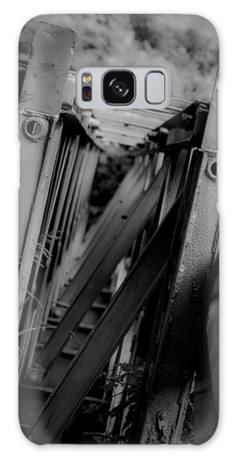Lahay Creative Galaxy S8 Case featuring the photograph Bw Bridge by Andrew Lahay