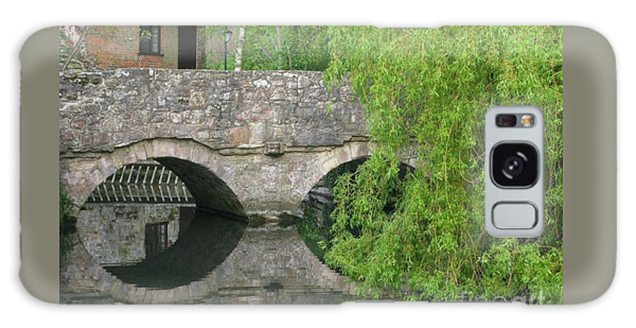 England Galaxy S8 Case featuring the photograph By The Old Mill Stream by Ann Horn