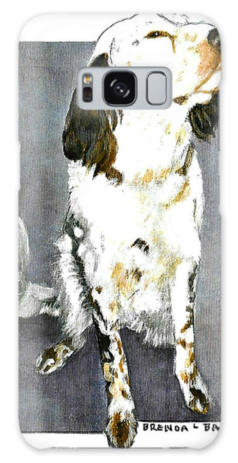 Dog Galaxy S8 Case featuring the painting C13 by Brenda L Baker