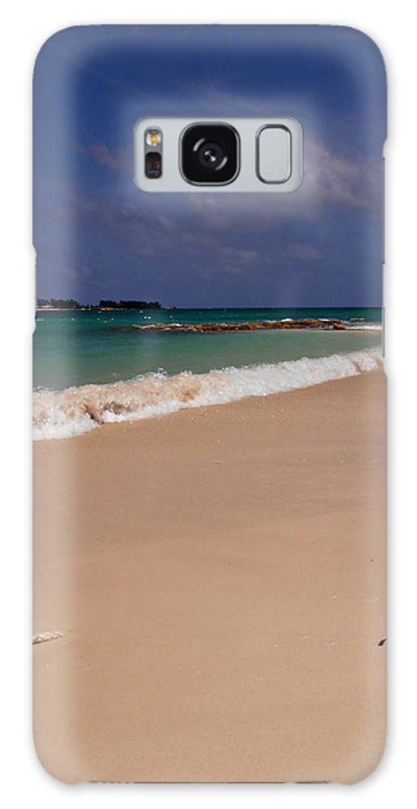 Beach Galaxy S8 Case featuring the photograph Cable Beach Bahamas by Kimberly Perry