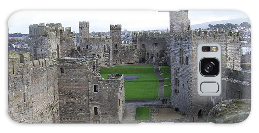 Castles Galaxy Case featuring the photograph Caernarfon Castle by Christopher Rowlands
