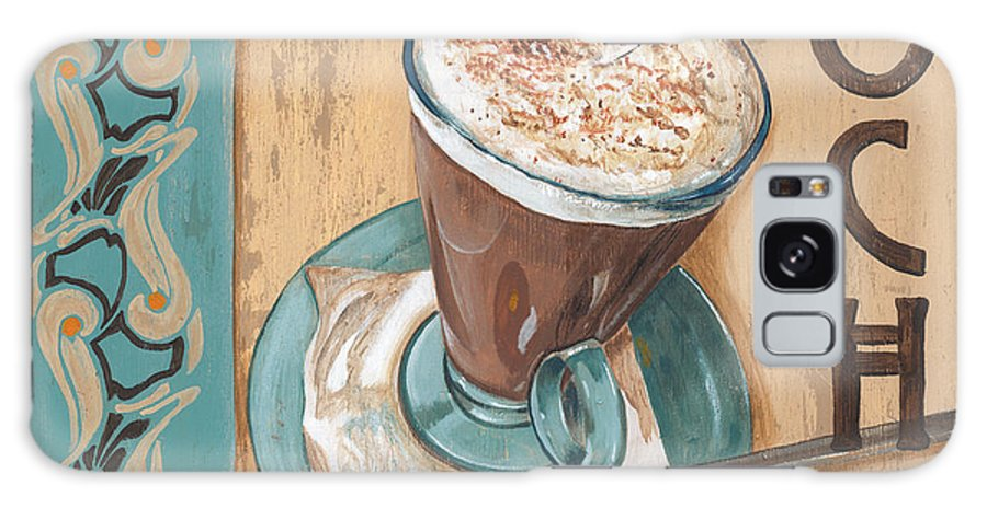 Food Galaxy S8 Case featuring the painting Cafe Nouveau 1 by Debbie DeWitt