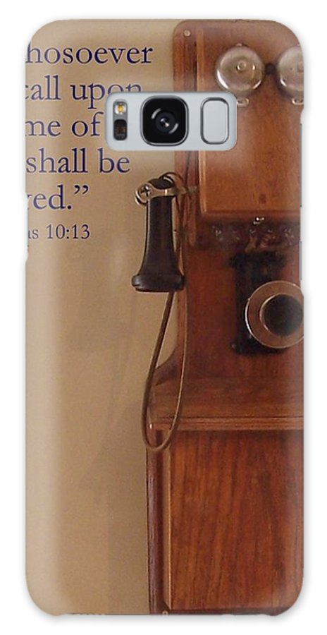 Phone Galaxy S8 Case featuring the photograph Call On The Lord by Kathleen Luther