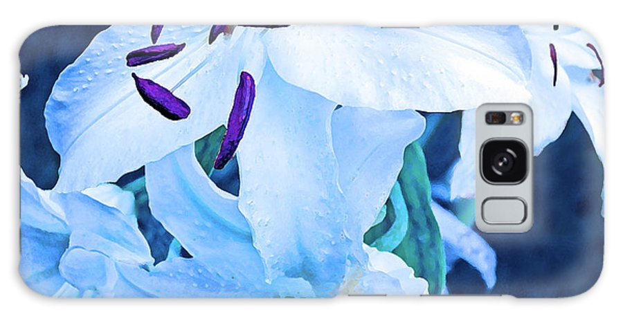 Oriental Galaxy S8 Case featuring the photograph Calming Lily by Alexandra Pollett