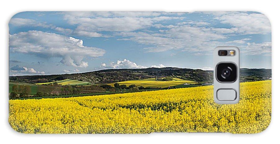 Landscapes Galaxy S8 Case featuring the photograph Caloa Field by Christine Czernin-Morzin