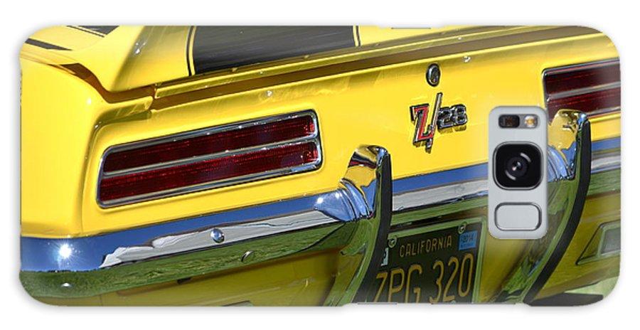Yellow Galaxy S8 Case featuring the photograph Camaro by Dean Ferreira