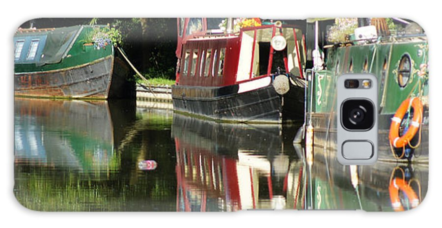 Canal Galaxy S8 Case featuring the photograph Canal Reflections Cropped by Erich Kirchubel