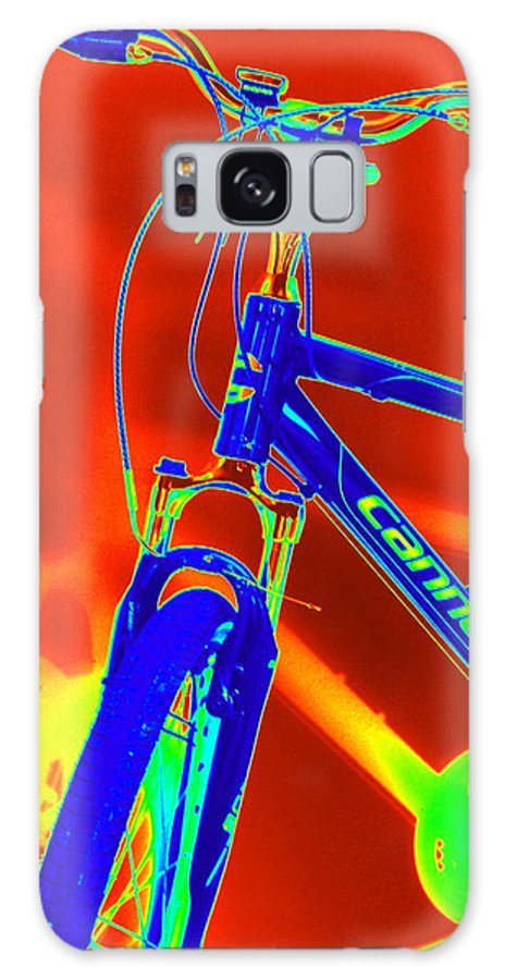 Bike Galaxy S8 Case featuring the photograph Cannondale Ride by Mary Beth Landis
