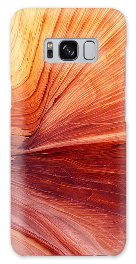 Canyon Galaxy S8 Case featuring the photograph Canyon Kissed By The Sun by Alan Socolik