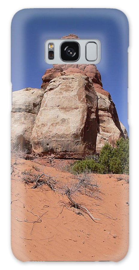 Canyonlands Galaxy S8 Case featuring the photograph Canyonlands Monolith by Steve Brown